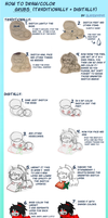 Grub Drawing/Coloring Tutorial by SlayersStronghold