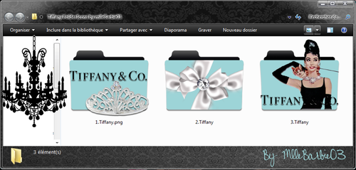 Tiffany Folder Icons by mlleBarbie03 by mllebarbie03