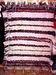 Woven Rag Rug on Loom by mertonparrish