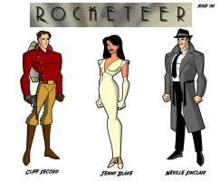 The Rocketeer by billiebob72088