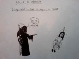 Life of an Introvert: The Grim Reaper by WiseGirl15