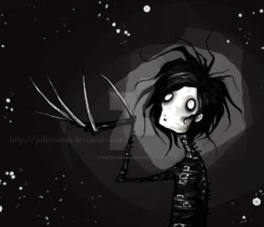 Edward Scissorhands by Kritzelkrams