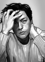 study: cole sprouse by Mossygator