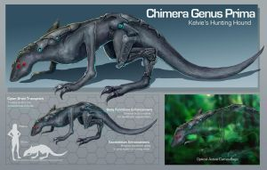 Commission: Chimera Genus PRIMA by aiyeahhs