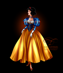 Disney Haut Couture - Snow White by tiffanymarsou