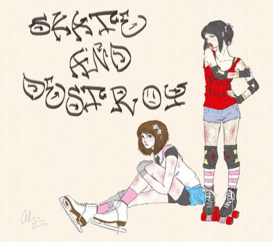 skate and destroy by aestivus