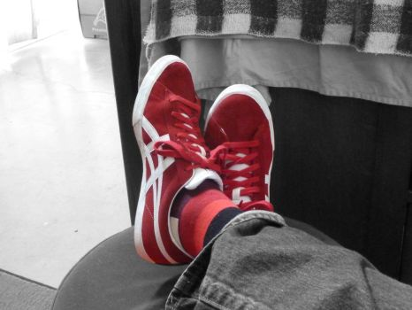 New Red Shoes by bastique