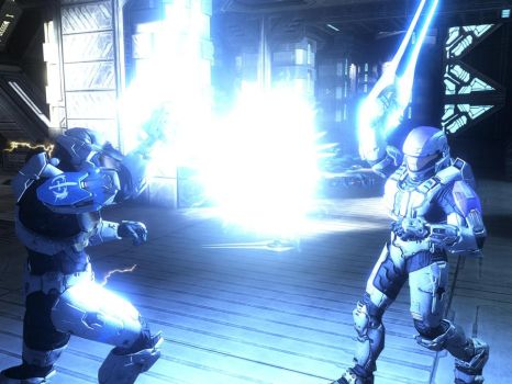 ODST Vs Spartan by killerodd