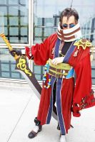 Auron - Final Fantasy X by popecerebus
