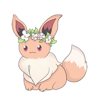 Serena's eevee by Sheep-l