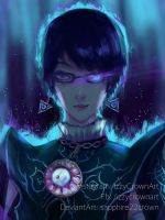 Bayonetta [ UMBRA WITCH ] by sapphire22crown