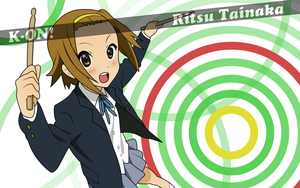 Ritsu Wallpaper by Ropedy