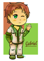 AT: Gabriel by maricookie