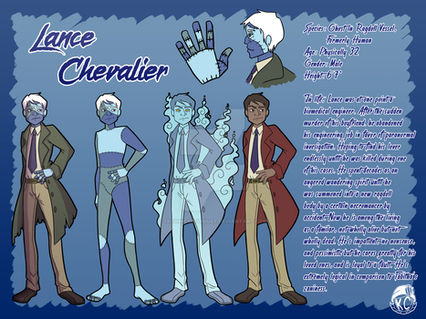 Lance Reference Sheet by technicolordust