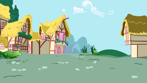 Ponyville Backgrond by AMaleAlicorn