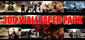 300 WallPack in 2560x1600 HD by MugenB16