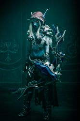 Sylvanas cosplay - Dark Lady watch over you by Narga-Lifestream