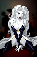 Lady Death by Finch by PatrickFinch
