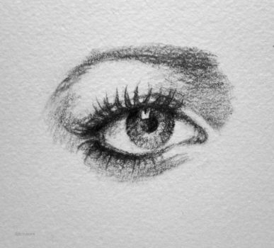 Eye sketch (five) by LizzVisions