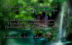 Psalm 1, traditional by EdenEvergreen