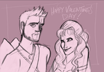 Valentine's Day Cupid and Aphrodite by jaymetwins