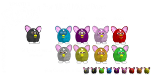 MMD - Updated Furby Package by PoTatterTot