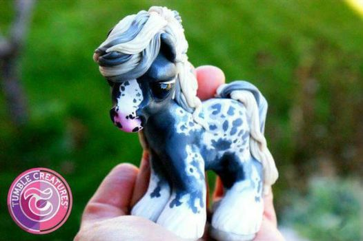 Appaloosa Horse Sculpture by crystalcookart