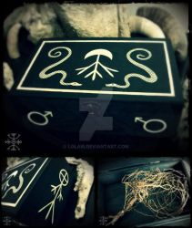Wormwood Reliquary Box by Lolair