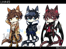 [AUCTION*CLOSED]Lineheart*49 by Relxion-kun
