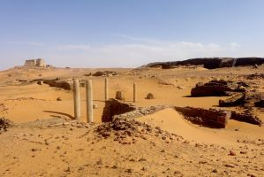 Christian Capital in Nubia by Syltorian