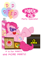 P is for Party by TheLastGherkin