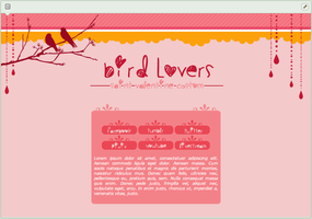 Bird Lovers | simple custom graphic by BluAjisai