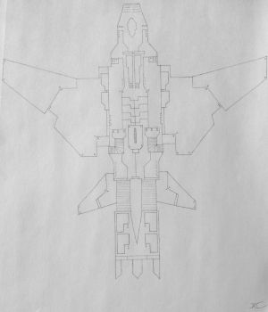 The 35-S War-Falcon (Project A) by AngelOfNope