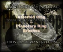Planetary Ring and Asteroid Ring PS Brushes by FrostBo