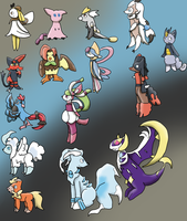 GEN 7 POKEFUSIONS AUCTIONS CLOSED by anntheazelf101