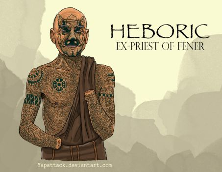 Heboric: Ex Priest of Fener by YapAttack
