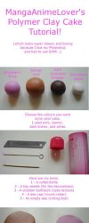 MAL's Clay Cake Tutorial by MangaAnimeLover