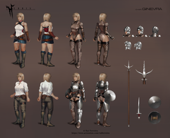 Ginevra Character Sheet by NightmareGK13