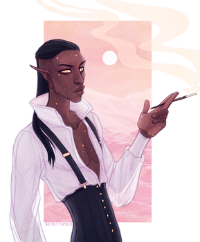 Kravitz - The Adventure Zone Dungeons and Dragons by Naimly