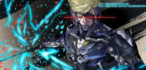 Raiden with Speed Painting by BonnyJohn