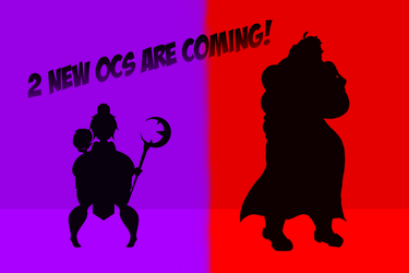 I made 2 new OCs || Teaser by DoubleBellXY