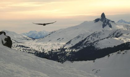 Sunset in Whistler by editordistriktmag