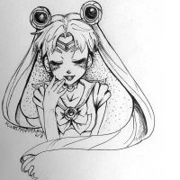 Sailor Moon by Fundippopotamus