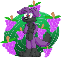 Grape Collie by Hukley