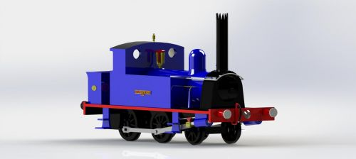 Solidworks: Gladstone by vwdrawings1963