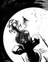 Spidey inks #0001 by danimation2001