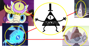 Is Bill Cipher Connected To SVTFOE? by ARTZUME