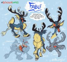 Reindeer Games Fable by FablePaint