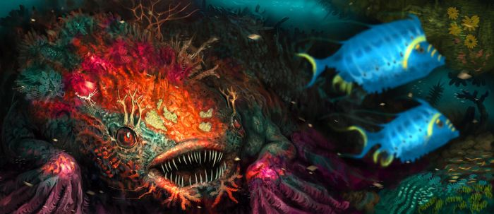 Reef Beast by Davesrightmind