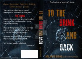 To the Brink and Back concept cover 1 by DJMadameNoir